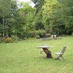 Ty Mawr garden