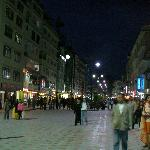 MG Marg at night