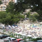 Main beach nearest hotel