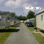 Main view of caravans
