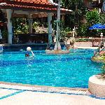 bottom swimming pool