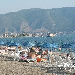 The beach at Callis