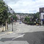 Overlooking the delightful town of Matlock on the edge of the Peak District