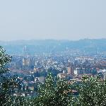 View over Florence from the Villa Covacchia