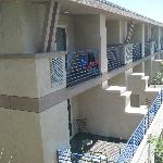 Balcony rooms.
