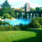 piscine le matin