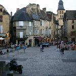 Sarlat's central square