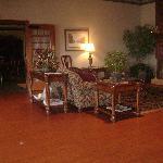 Living Room/Front Desk Area