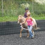 Pony-riding with Sonia