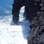 Lava Rock Sea Arch--Volcano Nat'l Park