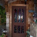 Door to our room - The Teddy Bear Room