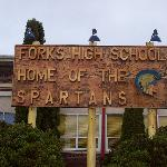 The actual Forks High School