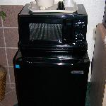 Fridge/Freezer and Microwave