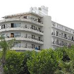 Hotel Haromar, Calella - front view