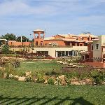 The central complex of the resort