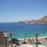 View of Medano Beach above Baja Cantina @ The Cabo Villas