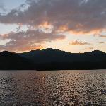 Sunset on Santeetlah