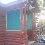 Front of cabin #7