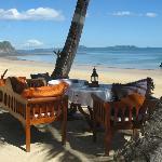 Amarina Hotel beach setting