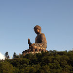 The Big Buddha at Po Lin Monastery on Lantau Island