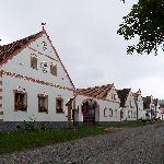 Baroque houses in Holasovice