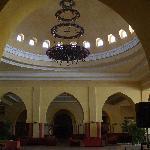 Une petite partie de l'immense hall