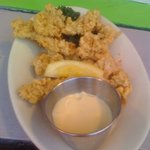 Fried Gator tail