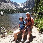Bear Lake hike inside the park
