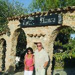 Entrance to el Rancho Blanco