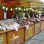 Market stall in Chester
