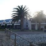 L'hôtel en bord de mer
