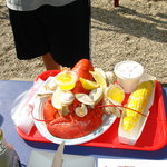 lobster, steamers & corn-on-the-cob