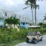 View of the buildings at Treasure Cay