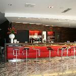 Bar de l'hôtel.