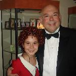 Daddy Warbucks and Annie were great!