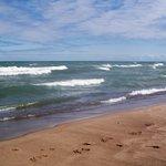 Waves on Douglas Beach