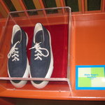 Mister Rogers' sneakers.