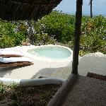 Our own plunge pool