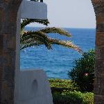Aussicht durch Tor