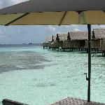 Water villa view