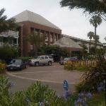 Vorfahrt vom Hotel