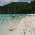 Our favorite beach on the island of St John