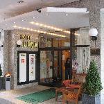 Consul hotel - entrance view
