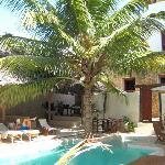 Swimming pool at Lamu House