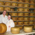 Testing the quality of the Parmigiano Reggiano