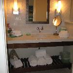 Plush Bathroom at the Orchid Inn
