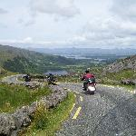Riding through the Healy Pass