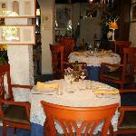 tables au gourmandin(la salle)