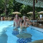 The pool at Maradadi wing