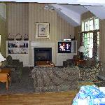 Living Room at the Villa